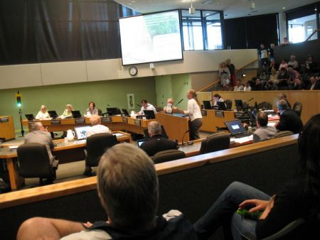 Sarah Woods of the Junction Creek Stewardship Committee spoke of the need for municipal funding for a core staff postion.  This was reiterated later with needs for an Active Transportation Coordinator, and a Community Garden Coordinator.