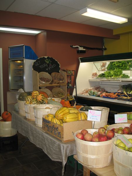 Eat Local Sudbury turned a mishap into an opportunity to upgrade the store (photo by Naomi Grant)
