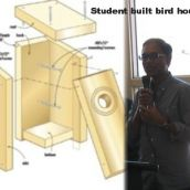 Charles Ramcharan describes the Student Built Birdhouses project.