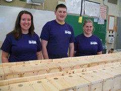 Lo-Ellen Park Secondary School students built 50 birdhouses with the support of Project Impact last year