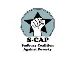Sudbury Coalition Against Poverty logo