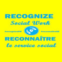 MEDIA RELEASE:  Recognize Social Work