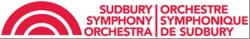 Sudbury Symphony logo.